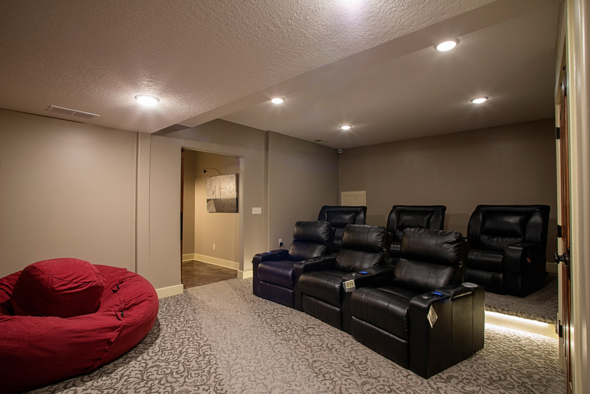 Bat Remodel Home Theater
